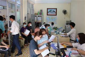 Không khí nhập học đợt 1 năm 2020 -Trường Cao đẳng Y Hà Nội