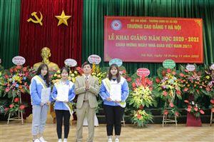 Trường Cao đẳng Y Hà Nội vinh danh tân thủ khoa năm 2020
