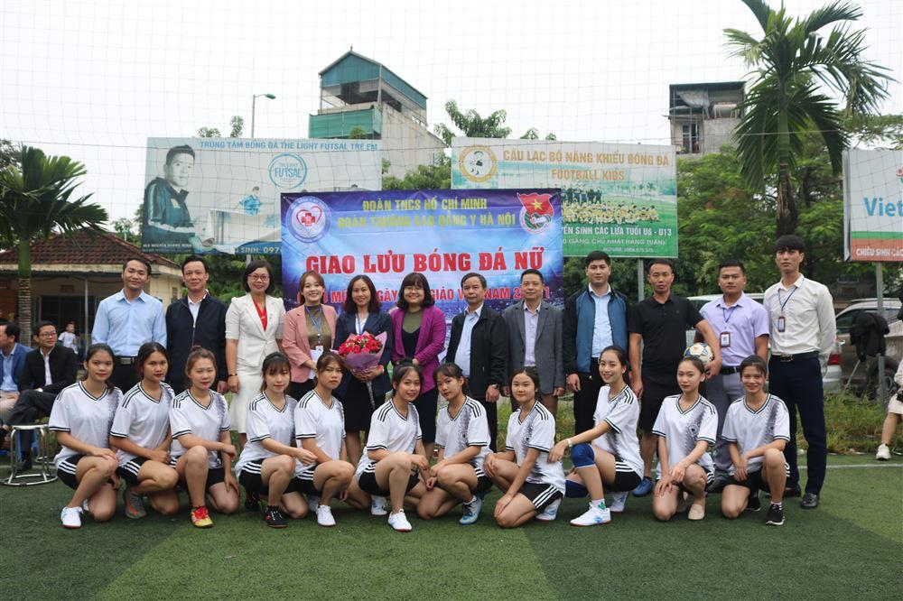 Giao lưu bóng đá Chào mừng ngày Nhà Giáo Việt Nam 20.11