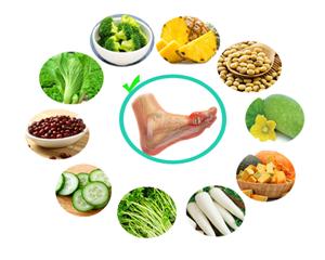 8 cách giảm axit uric không dùng thuốc