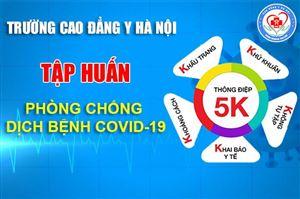Trường Cao Đẳng Y Hà Nội Tập huấn phòng chống dịch bệnh Covid-19