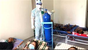 Bác sĩ tuyến đầu sáng chế một bình oxy cho nhiều bệnh nhân dùng cùng lúc