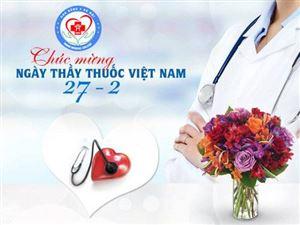 Chúc mừng ngày Thầy thuốc Việt Nam 27-2, Trường Cao đẳng Y Hà Nội