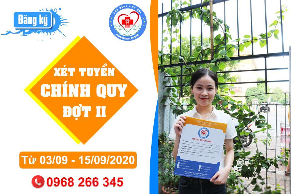 Trường Cao đẳng Y Hà Nội Thông báo xét tuyển đợt 2 năm 2020