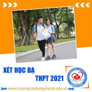 Trường Cao đẳng Y Hà Nội có xét học bạ THPT 2021 không?