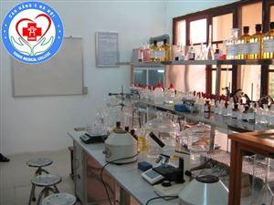 Một số hình ảnh Phòng thực hành ngành Dược